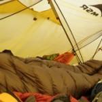 Test of Yeti Passion three sleeping bag